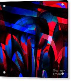Torn Acrylic Print by Ashantaey Sunny-Fay