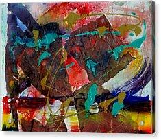 Torn Asunder Acrylic Print