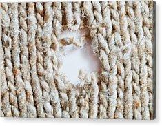 Torn Wool Acrylic Print
