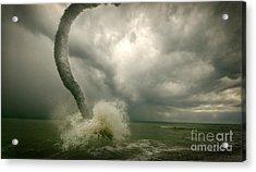Tornado Acrylic Print by Boon Mee