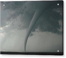 Tornado Country Acrylic Print by Ed Sweeney