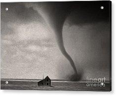 Tornado Acrylic Print by Gregory Dyer