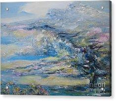 Tornado Over Lake Myra Acrylic Print