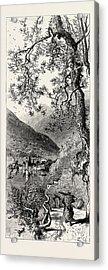 Torno, Lago Di Como, Lario, The Italian Lakes Acrylic Print