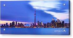 Toronto Bay Panorama Acrylic Print