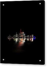 Toronto Flood No 3 My Island Acrylic Print by Brian Carson