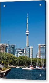 Toronto Harbour Acrylic Print by Steve Harrington