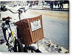Toronto Islands Bicycle Acrylic Print by Tanya Harrison