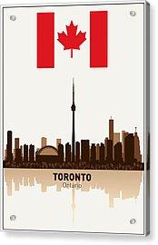 Toronto Ontario Canada Acrylic Print by Daniel Hagerman