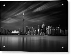 Toronto Skyline - 8 Minutes In Toronto Acrylic Print