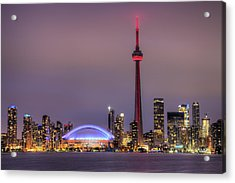 Toronto Skyline Acrylic Print by Shawn Everhart