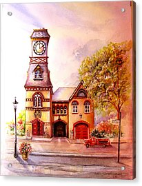 Toronto's Old Yorkville Fire Hall Acrylic Print
