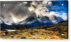 Torres Del Paine 1 Acrylic Print by Roman St