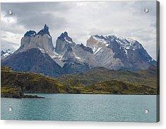 Torres Del Paine Acrylic Print by Eric Dewar