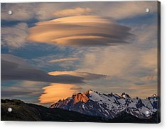 Torres Del Paine National Park, Chile Acrylic Print by Art Wolfe