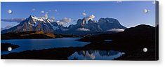Torres Del Paine, Patagonia, Chile Acrylic Print by Panoramic Images