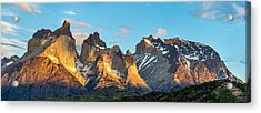 Torres Del Paine Sunrise - Patagonia Photograph Acrylic Print by Duane Miller