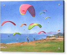 Torrey Pines Gliderport Acrylic Print