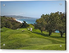 Torrey Pines Golf Course North 6th Hole Acrylic Print