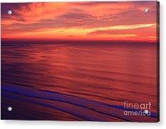 Acrylic Print featuring the photograph Torrey Pines Twilight by John F Tsumas