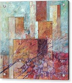 Torri Antiche Pietre E Uva Acrylic Print by Alessandro Andreuccetti