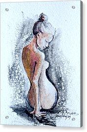 Torso  Acrylic Print by Dorina  Costras