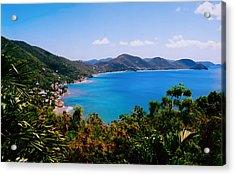 Tortola Bay Acrylic Print