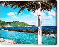 Tortola Cabana Acrylic Print