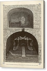 Torture Chambers Acrylic Print by Middle Temple Library