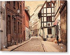 Torun Medieval Town Acrylic Print