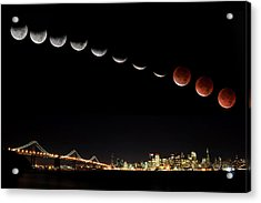 Total Eclipse Of The Moon Acrylic Print