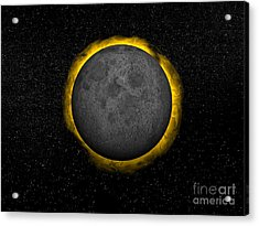 Total Eclipse Of The Sun Acrylic Print by Elena Duvernay