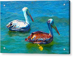 Total Focus Acrylic Print