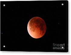 Total Lunar Eclipse Acrylic Print by Stephen & Donna O'Meara