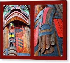 Totem 2 Acrylic Print by Theresa Tahara