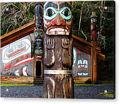 Acrylic Print featuring the photograph Totem Bight by Karen Horn
