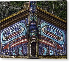 Totem Bite State Park 01 Acrylic Print by Timothy Latta