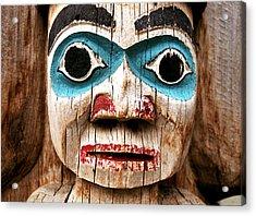 Totem Face Acrylic Print