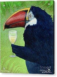 Toucan Tokay... Acrylic Print