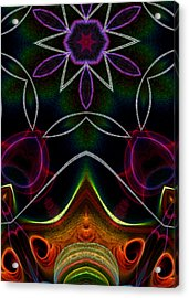 Acrylic Print featuring the digital art Touch A Star by Owlspook