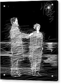 Touch. Acrylic Print