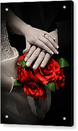 Touch Of Color Acrylic Print by Joel Loftus