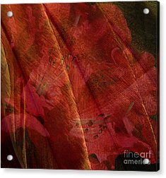 Acrylic Print featuring the photograph Touch Of The Orient by Liz  Alderdice