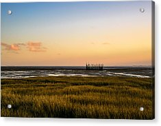 Acrylic Print featuring the photograph Touch The Sky by Thierry Bouriat