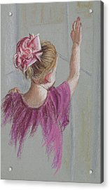 Touch The World Acrylic Print by Jocelyn Paine