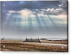 Touched By Heaven Acrylic Print by Sennie Pierson