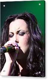 Touching Vocals Acrylic Print by Shoal Hollingsworth