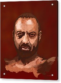 Tough Guy Acrylic Print by Tim Stringer