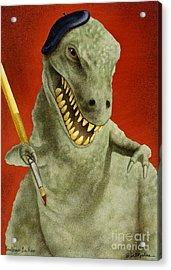 Toulouse La Rex... Acrylic Print by Will Bullas