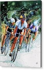 Tour De Force Acrylic Print by Hanne Lore Koehler